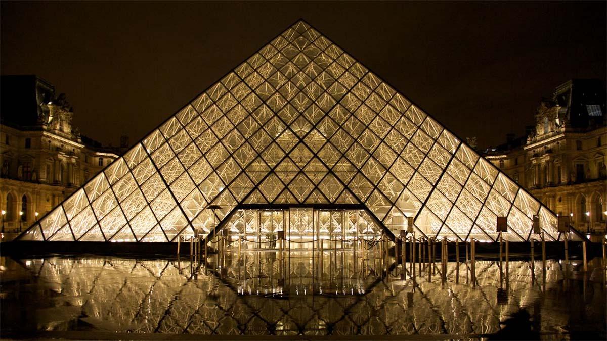 Le Musee du Louvre, Paris