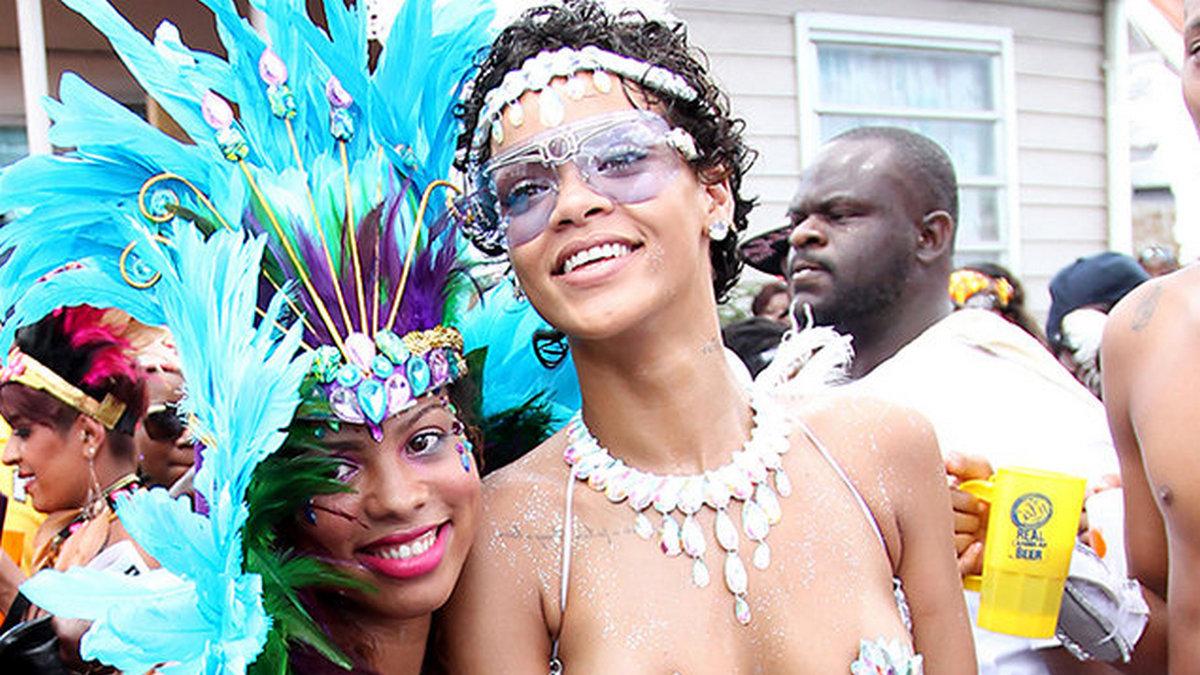Rihanna na Antigua Carnival
