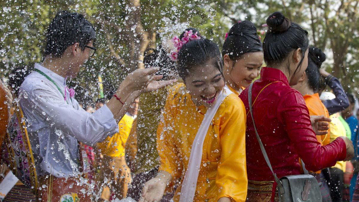 Święto Wody - Mjanma