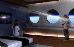 Kosmiczny hotel na orbicie z widokiem na Ziemię