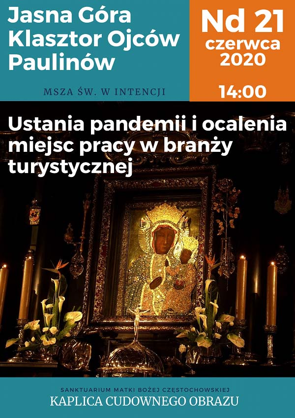 Msza Święta za turystykę w Częstochowie