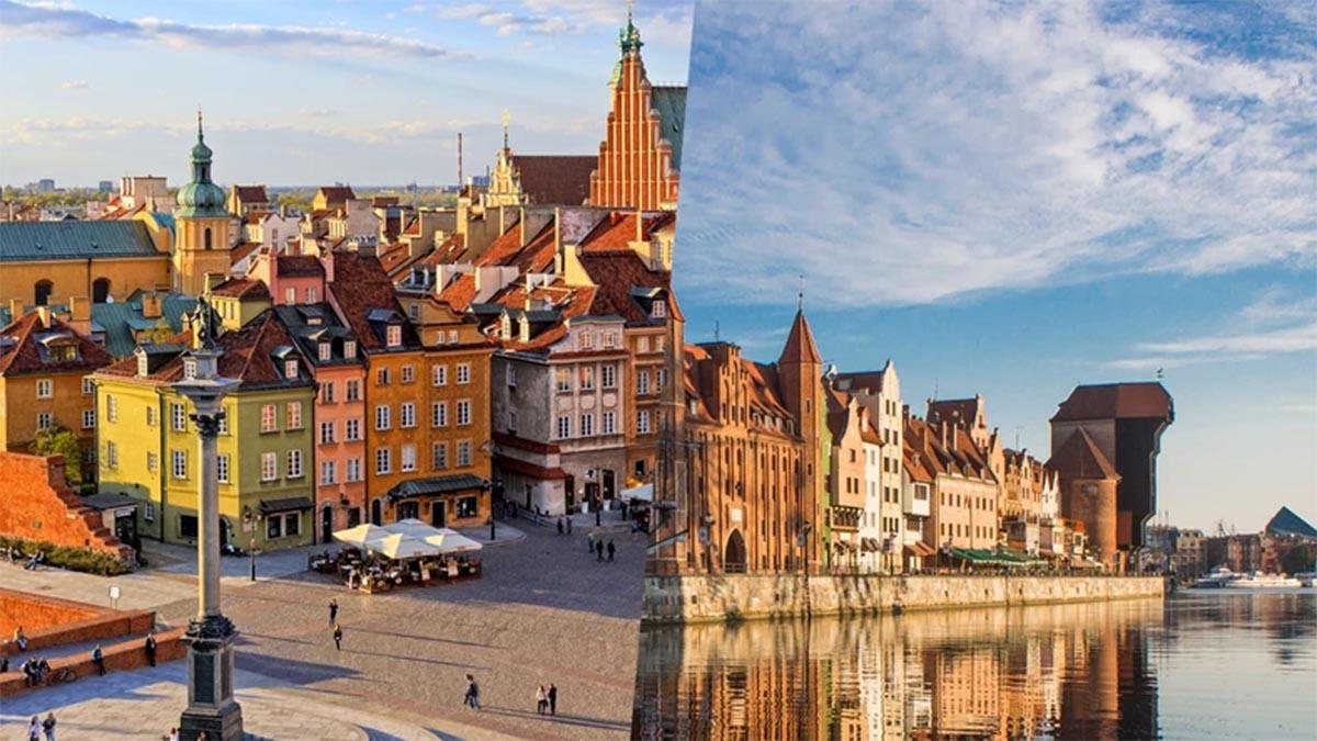 Warszawa i Gdańsk