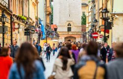 W maju prawie 90 procent mniej turystów