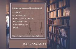 Księgarnia Muzeum Niepodległości zaprasza