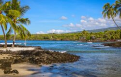Czarne chmury nad Hawajami