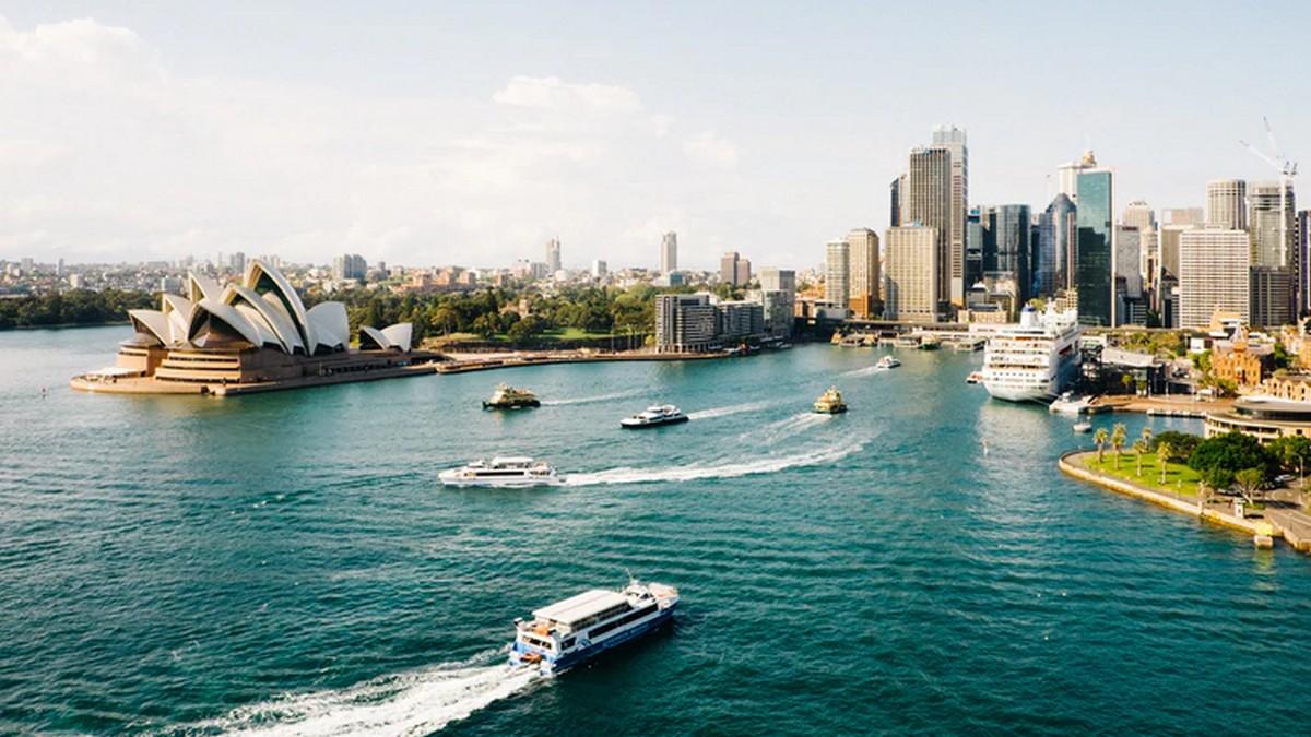 Widok na Sydney, Australia