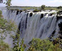 Wodospady Wiktorii czekają na turystów