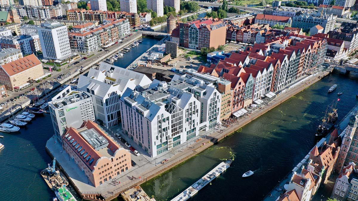 Wyspa Spichrzów Gdańsk