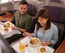 Restauracja w samolocie