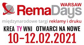 RemaDays Warsaw - Międzynarodowe Targi Reklamy i Druku