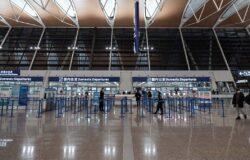 Setki lotów odwołanych w Szanghaju i Tianjin