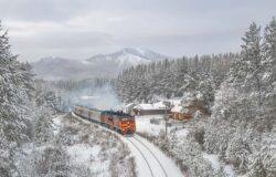 Papier, woda i ciastka na podróż pociągiem po Rosji