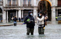 Centrum Wenecji ponownie zalane