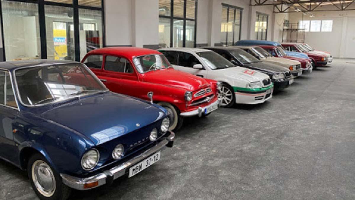 Muzeum samochodów Škoda