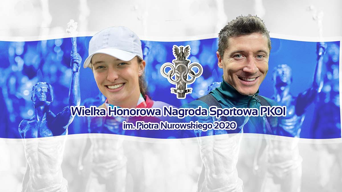 Iga Świątek i Robert Lewandowski sportowcami 2020 roku