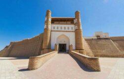 Rekonstrukcja twierdzy Ark w Bucharze