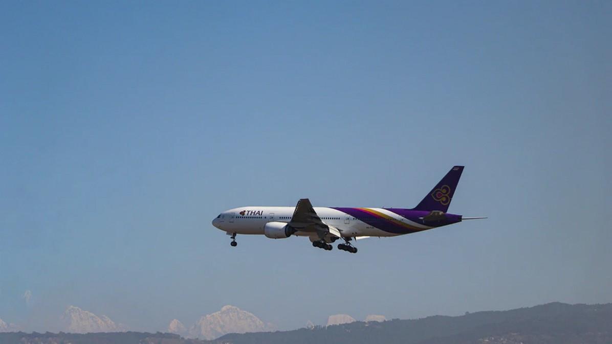 Samolot linii Thai Airways