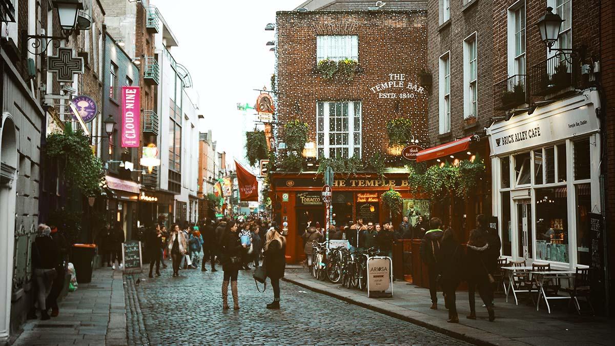 Irlandia, Dublin