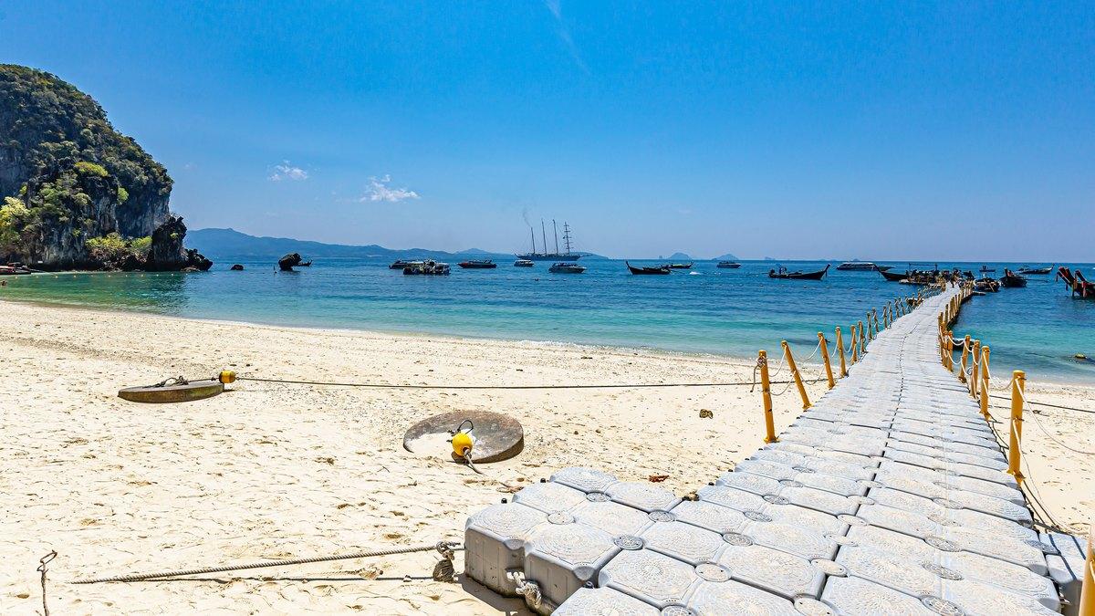 Plaża w Phuket w Tajlandii