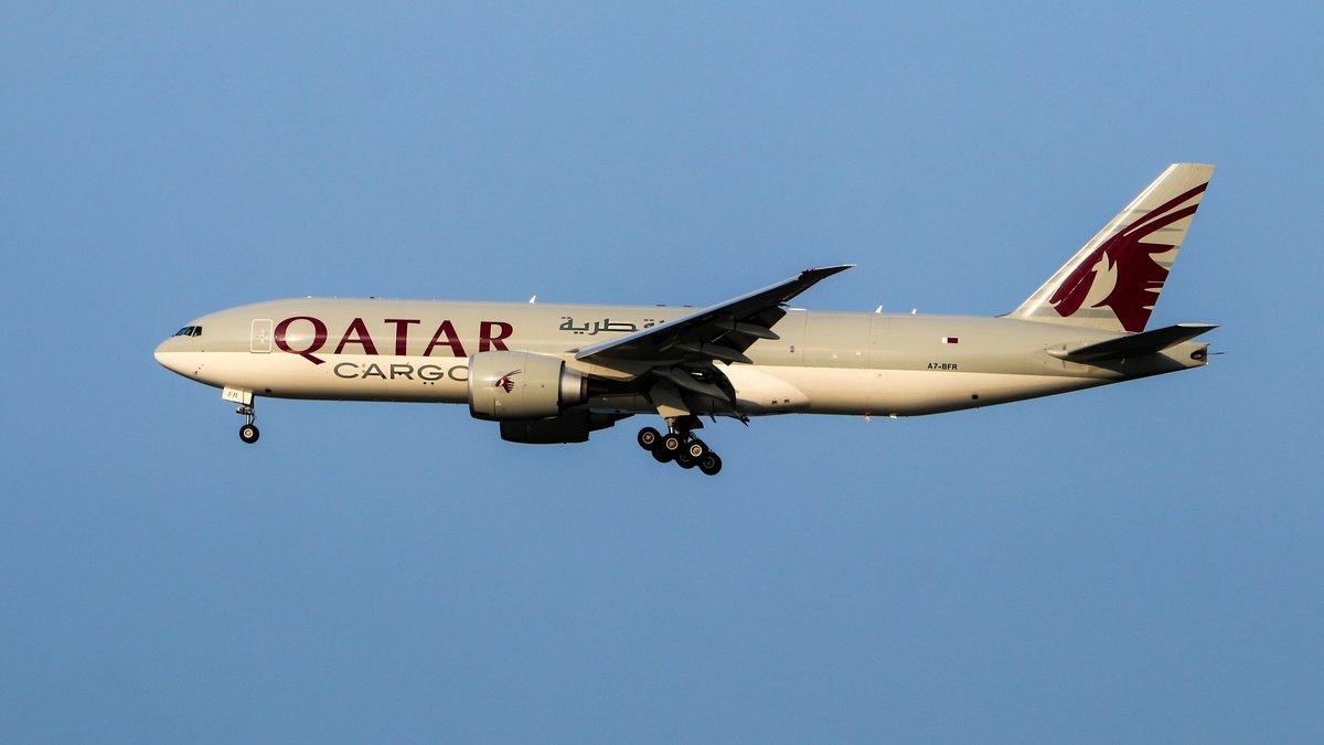 Samolot Qatar Airways