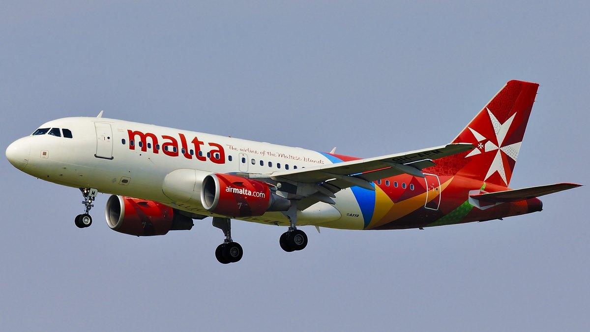 Samolot z Malty