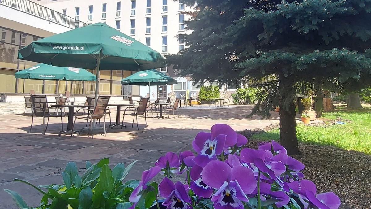 PATIO Zielony Zakątek w Hotelu Gromada Centrum