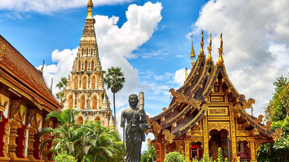 Wielki pałac w Bangkoku, Tajlandia