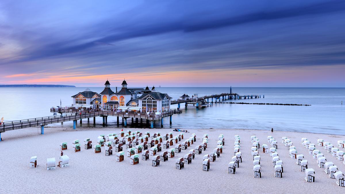 Sellin: Molo nad Morzem Bałtyckim