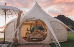 Luksusowe namioty od Lotus Belle
