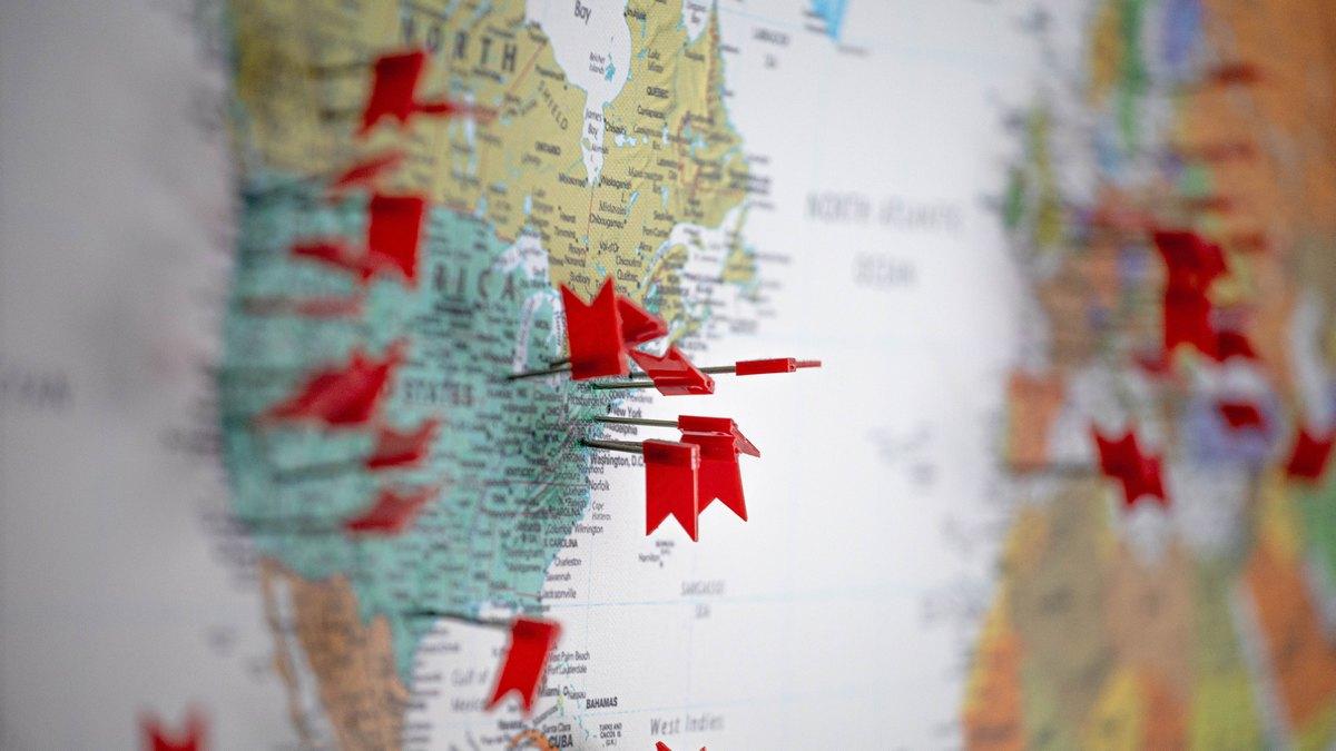 Mapa USA