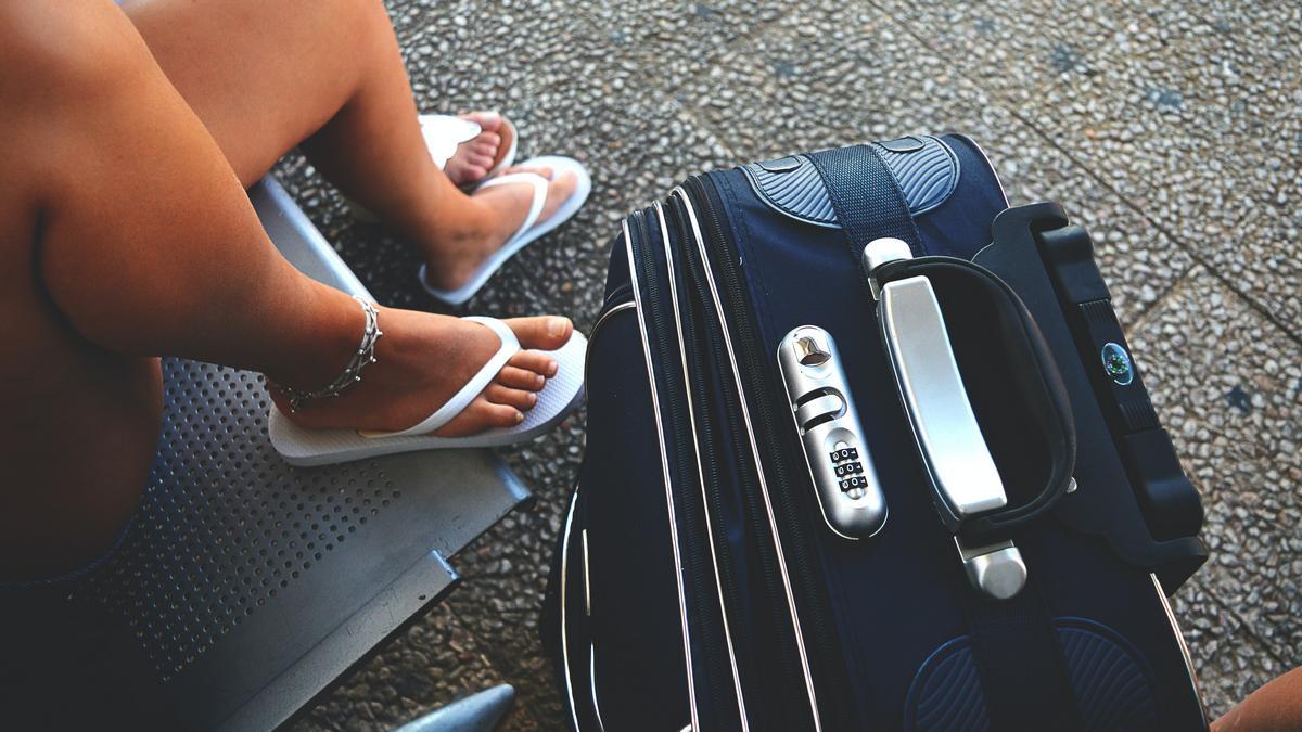 Lotnisko, wakacje