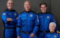 Jeff Bezos poleciał w kosmos. Zaczęła się nowa era lotów komercyjnych [WIDEO]