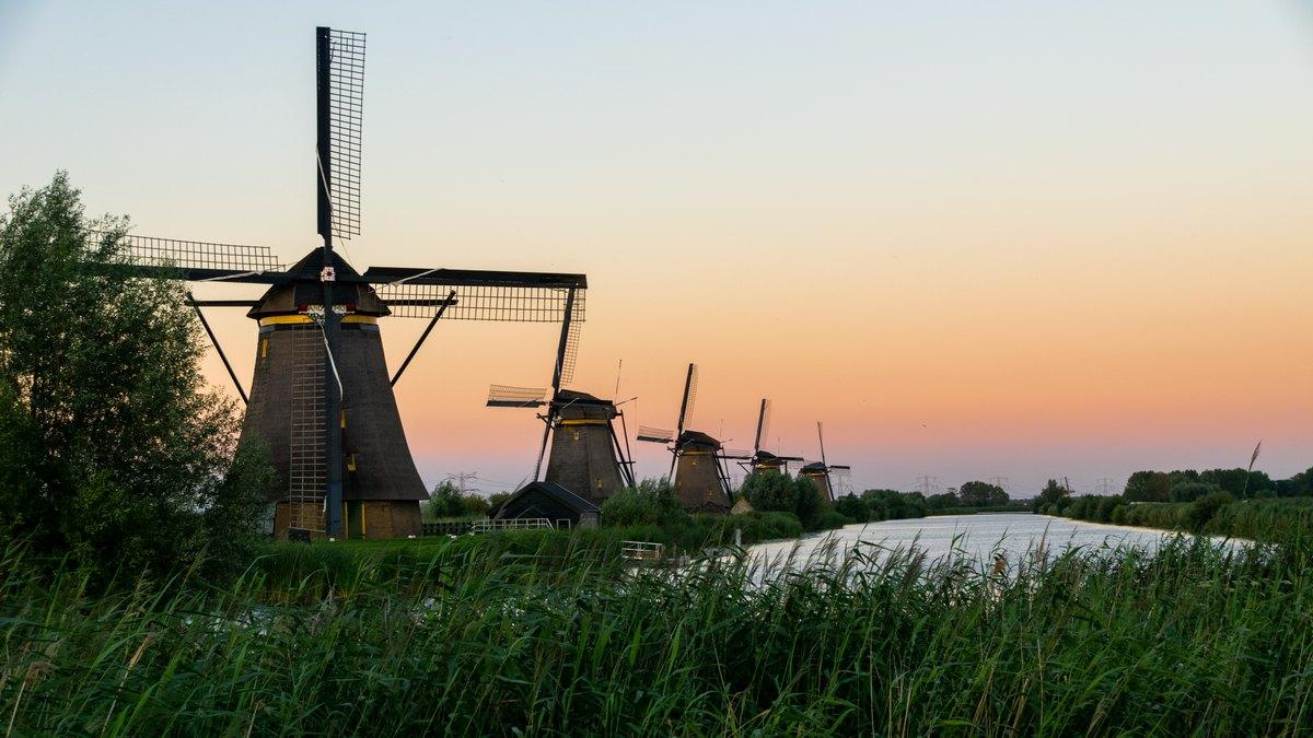 Kinderdijk, Holandia