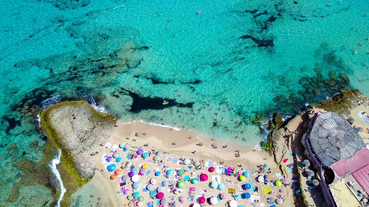 Plaża Cala Comte, Eivissa Islands, Balearic Islands