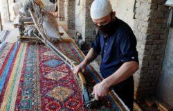 O sztuce tkania dywanów w Szanghaju