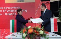 Polska i Bułgaria podpisał porozumienie o współpracy w dziedzinie turystyki